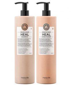 maria nila head & hair heal duo schampo balsam duo paket enly.se