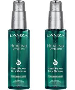 lanza healing strength neem plant silk serum duo 2 x 100ml enly.se