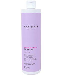 nak rose blonde shampoo 375ml enly.se